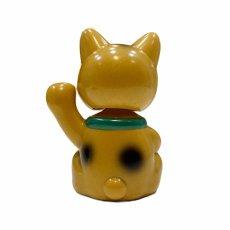 画像2:  BOBBLING HEAD LUCKY CAT FULL COLOR GOLD Ver.[名入れサービス] (2)