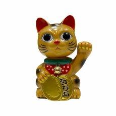 画像1:  BOBBLING HEAD LUCKY CAT FULL COLOR GOLD Ver.[名入れサービス] (1)