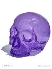 画像1: 1/1 SKULL HEAD CLEAR PURPLE (1)