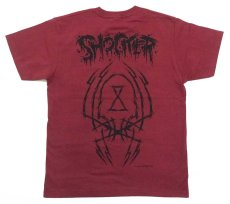 画像2: PUSHEAD ALLOVER T-SHIRT SB Ver. BURGUNDY (2)