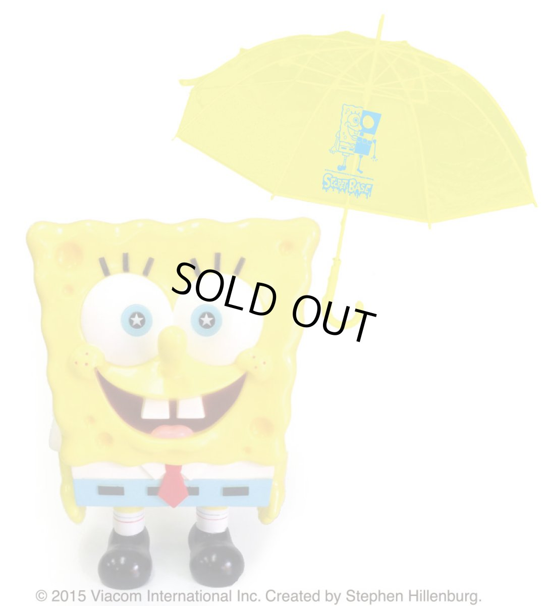 画像1: SPONGE BOB UMBRELLA SET (1)