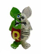画像1: RAT FINK X-RAY FULL COLOR G.I.D MONSTER GREEN ver. (1)