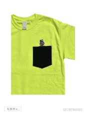 画像4: RAT FINK x SECRETBASE POCKET T-SHIRTS Safety Green (4)