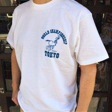 画像3: BUDDY 別注 PEANUTS スヌーピーTシャツ WORLD CHAMPIONSHIP TOKYO (3)