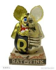 画像5: RAT FINK X-RAY FULL COLOR Matte Black Gold ver. (5)