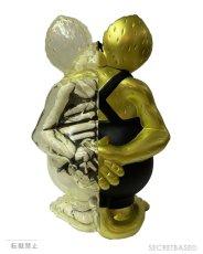 画像3: RAT FINK X-RAY FULL COLOR Matte Black Gold ver. (3)