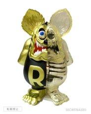 画像1: RAT FINK X-RAY FULL COLOR Matte Black Gold ver. (1)