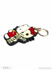 画像3: HELLO KITTY X-RAY RUBBER KEY HOLDER RED (3)