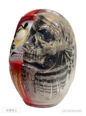 画像3: DARUMA SKULL X-RAY FULL COLOR RED Ver. (3)