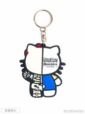 画像2: HELLO KITTY X-RAY RUBBER KEY HOLDER BLUE (2)