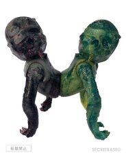 画像1: blaastbeet trahjedee sslittttharrs ah shhwwaaan sssohnn siameseORM! 2019 feb14 skullORM (the SkullPirateSerpent) patchWerk marbHouse Vers created by pushead sculpted by betch (1)