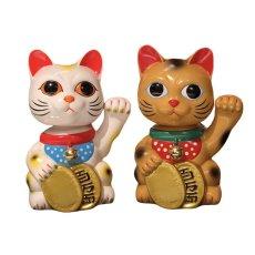 画像4:  BOBBLING HEAD LUCKY CAT FULL COLOR GOLD Ver.[名入れサービス] (4)