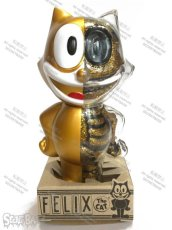 画像5: FELIX THE CAT X-RAY FULL COLOR GOLD (5)