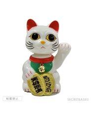 画像1: [特定のお客様限定]   BOBBLING HEAD LUCKY CAT FULL COLOR WHITE Ver. (1)