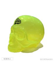 画像4: SBG New Era 9FIFTY × SECRETBASE 1/1 SKULL HEAD CLEAR YELLOW SET (4)
