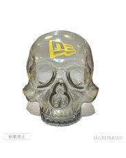 画像2: SBG New Era 9FIFTY × SECRETBASE 1/1 SKULL HEAD CLEAR BLACK SET (2)