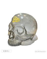 画像3: SBG New Era 9FIFTY × SECRETBASE 1/1 SKULL HEAD CLEAR BLACK SET (3)