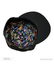 画像7: SBG New Era 9FIFTY × SECRETBASE 1/1 SKULL HEAD CLEAR YELLOW SET (7)