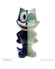画像1: FELIX THE CAT X-RAY FULL COLOR NAVY G.I.D Ver. (1)