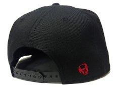 画像3: New Era × SECRETBASE 9FIFTY CAP BLACK x RED Ver (3)