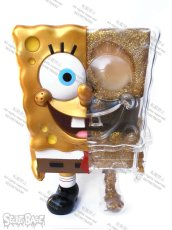 画像2: X-RAY SPONGE BOB FULL COLOR GOLD POUCH SET (2)