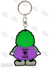 画像2: SUPER SIZE ME RUBBER KEY HOLDER PURPLE (2)