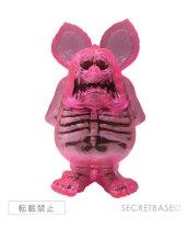 画像1: RAT FINK X-RAY NEON PINK CLEAR ver. (1)