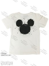 "画像2: DISNEY別注 The Disney Channel ""SPLASH MICKEY"" T-SHIRTS Kids WHITE (2)"