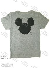 "画像2: DISNEY別注 The Disney Channel ""SPLASH MICKEY"" T-SHIRTS Kids GRAY (2)"