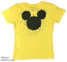 "画像2: DISNEY別注 The Disney Channel ""SPLASH MICKEY"" T-SHIRTS Kids YELLOW (2)"