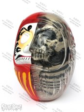 画像2: DARUMA SKULL X-RAY FULL COLOR RED (2)