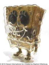 画像2: SPONGE BOB KEY CHAIN SET GOLD (2)