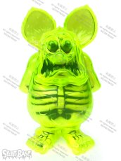 画像1: Rat Fink X-Ray Neon Yellow (1)