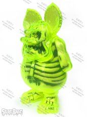 画像2: Rat Fink X-Ray Neon Yellow (2)