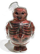 画像1: MARSHMALLOW MAN X-RAY RED RAME (1)
