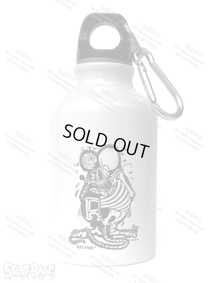 画像1: Rat Fink mini Bottle White (300ml) (1)