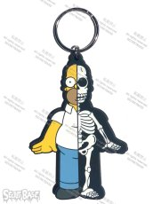 画像1: SIMPSONS HORMER RUBBER KEY HOLDER  (1)