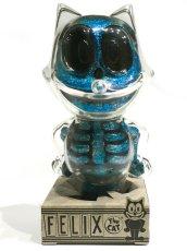 画像4: FELIX THE CAT X-RAY BLUE RAME (4)