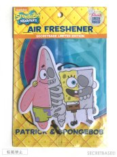 画像1: SPONGE BOB AIRFRESHENER - Patrick & SPONGE BOB (1)