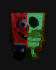 画像2: SPONGEBOB X-RAY FULL COLOR PINK G.I.D with Heart eye Ver.  (2)