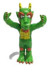 画像1: Cab Dragon FULL COLOR GREEN (1)
