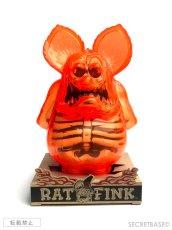 画像5: Rat Fink X-Ray Neon Orange SECRETBASE Ver. (5)