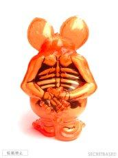 画像3: Rat Fink X-Ray Neon Orange SECRETBASE Ver. (3)