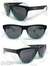 画像4: 1/1 SKULL HEAD BLACK FLYS SUN GLASS SET BLUE (4)