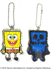 画像5: SPONGE BOB KEY CHAIN SET BLUE RAME (5)