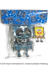 画像4: SPONGE BOB KEY CHAIN SET BLUE RAME (4)