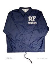 画像2: RAT FINK  COACH  JACKET NAVY / WHITE (2)