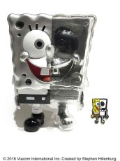 画像1: X-RAY SPONGE BOB PINS SET SILVER (1)