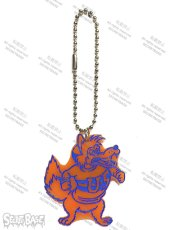 画像1: COLLEGE LOGO KEY PLATE ORANGE (1)