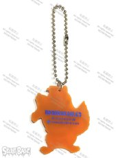 画像2: COLLEGE LOGO KEY PLATE ORANGE (2)